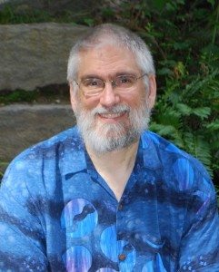 Carl McColman, July 2013. Photo by Fran McColman.