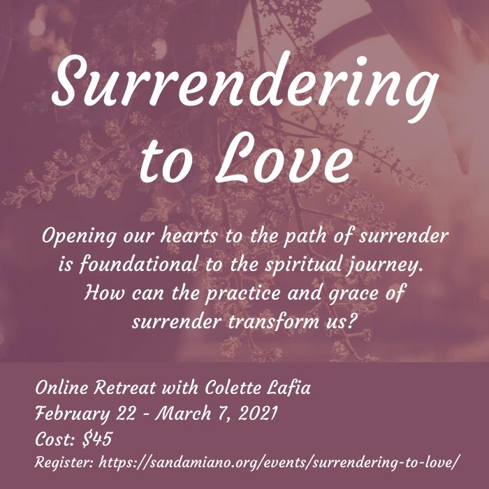 Surrendering to Love