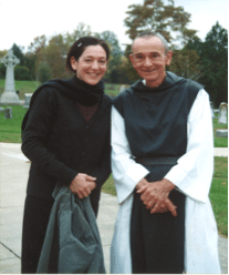 Me and Brother Rene, Abbey of Gethsemani